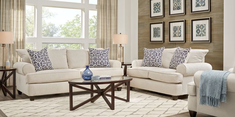 Emsworth Beige 5 Pc Living Room