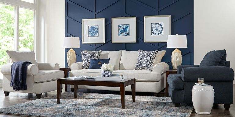 Emsworth Beige 5 Pc Living Room