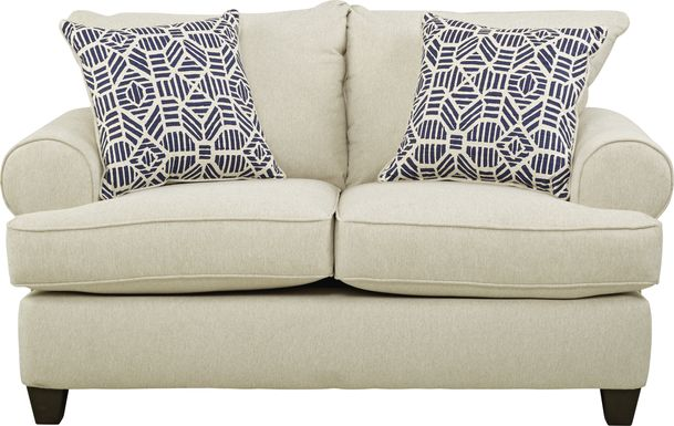 Emsworth Beige Loveseat