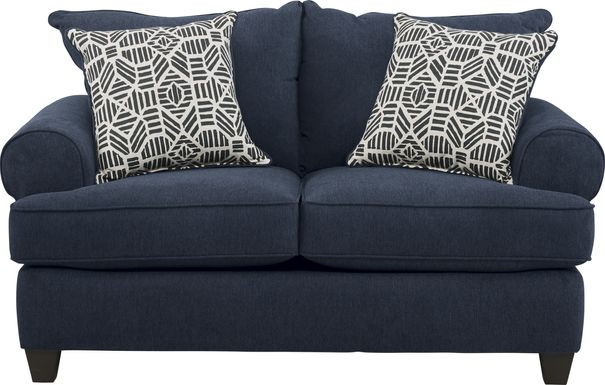 Emsworth Navy Loveseat