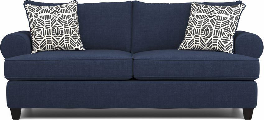 Emsworth Navy Sofa