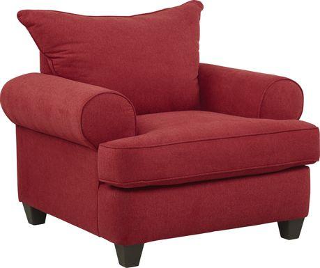 Emsworth Scarlet Chair