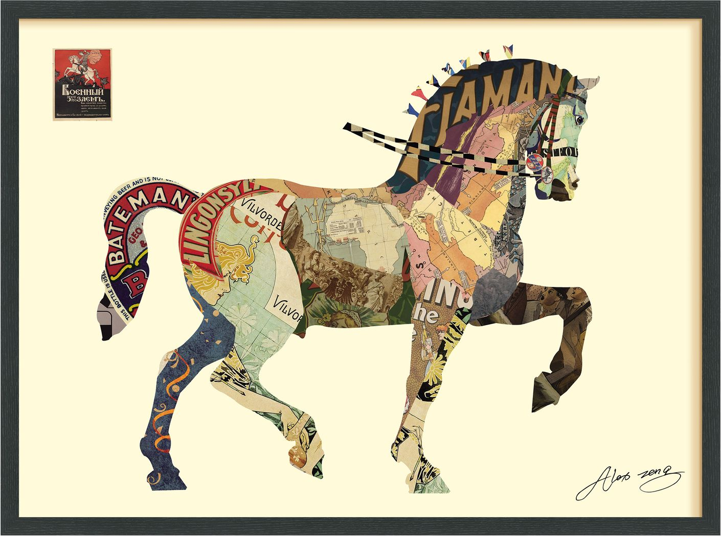Enchanted Horse Artwork