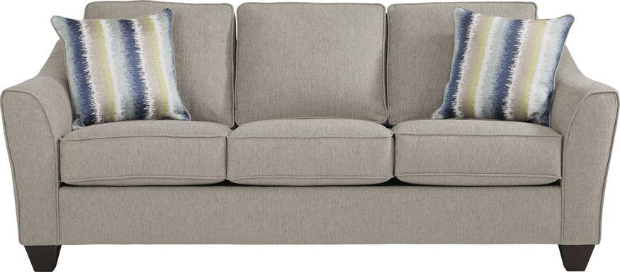Enchanted Meadow Gray Sofa