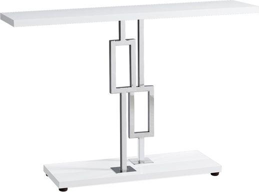 Enloe White Console Table
