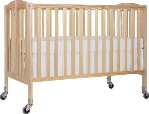 Ensly Natural Full Folding Crib