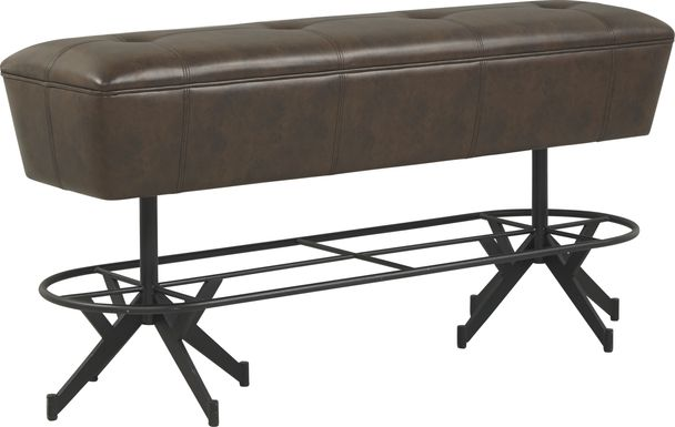 Eric Church Highway To Home Tap Room Brown Bar Height Bench