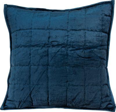 Ethelyn Navy Accent Pillow