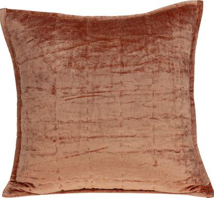 Ethelyn Orange Accent Pillow