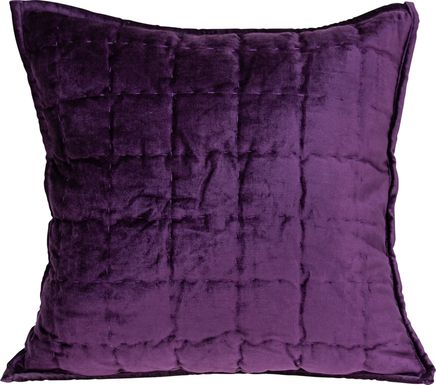 Ethelyn Purple Accent Pillow