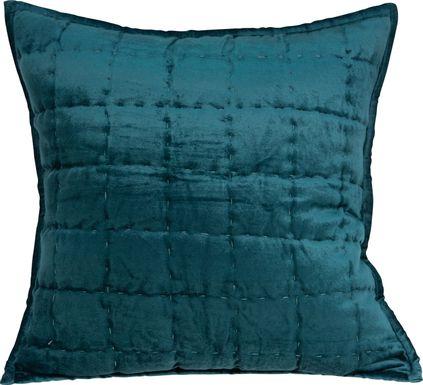 Ethelyn Teal Accent Pillow