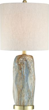Euston Cove Gray Lamp