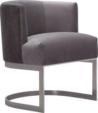 Eva Gray Accent Chair