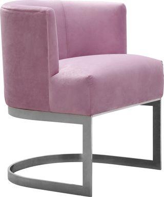 Eva Lilac Accent Chair