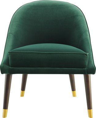 Evadean Emerald Accent Chair