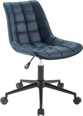 Evamay Navy Desk Chair