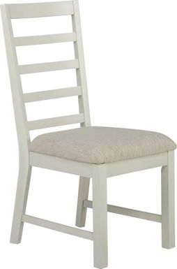 Everdeen Cottage White Side Chair