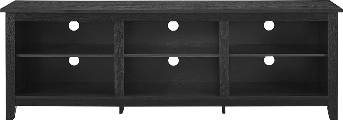 Everett Black 70 in. Console