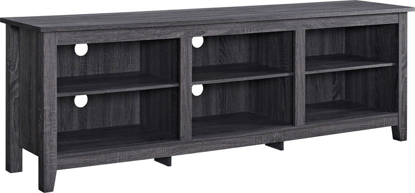 Everett Charcoal 70 in. Console