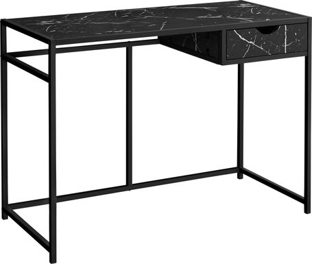 Everina Black Desk