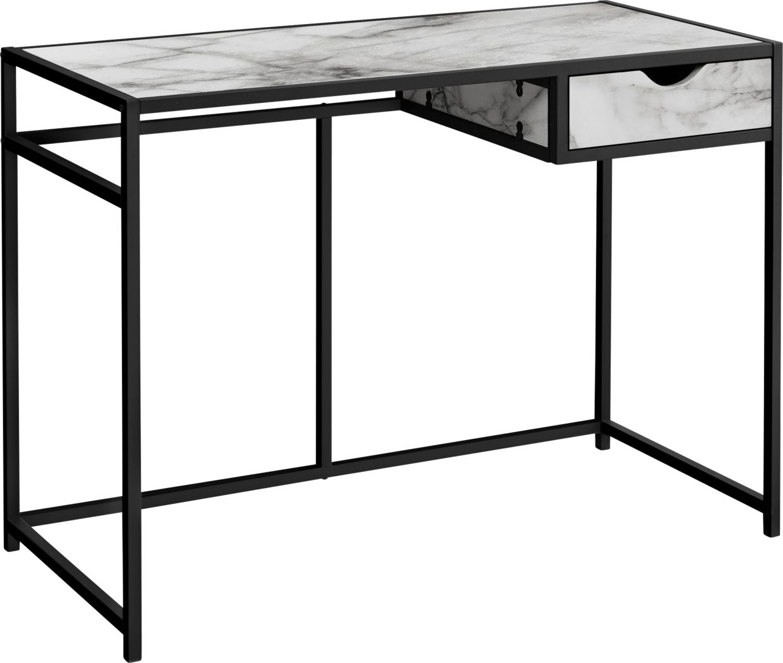 Everina White Desk