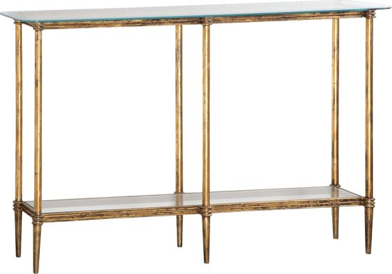 Extine Gold Sofa Table
