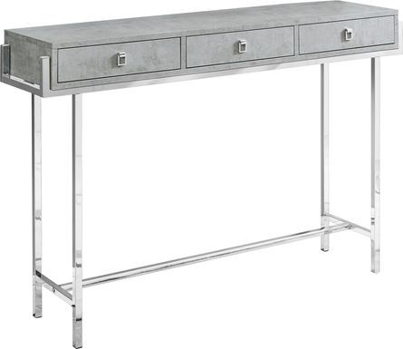 Ezell Gray Console Table