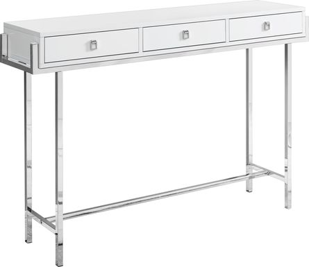 Ezell White Console Table