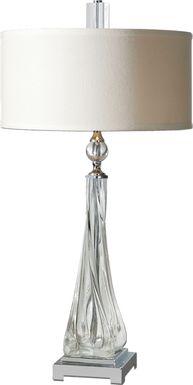 Faithon Silver Lamp