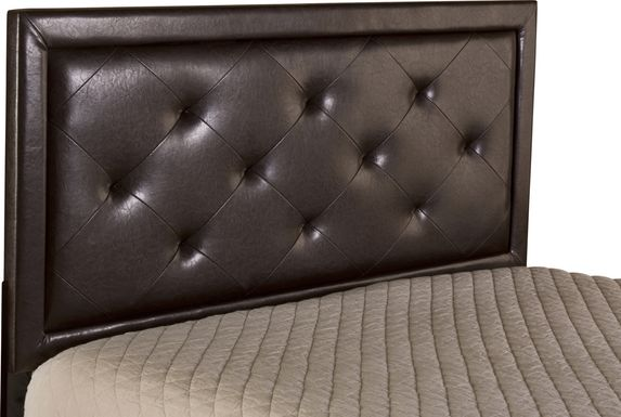 Fallenrock Brown King Upholstered Headboard