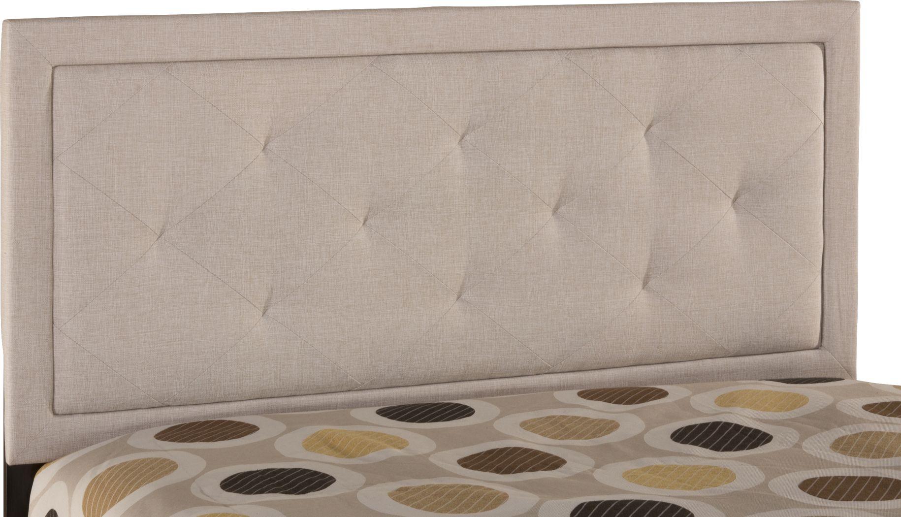 Fallenrock Cream Twin Upholstered Headboard