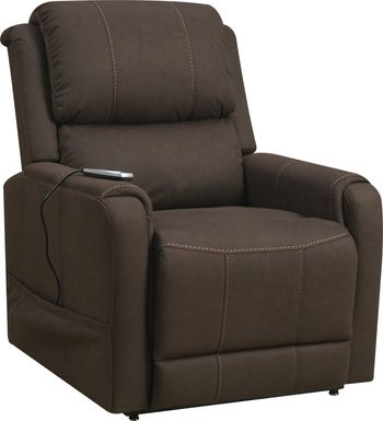 Fallowvalley Brown Lift Chair Power Recliner