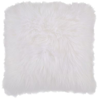 Fantastic Fluff White Accent Pillow