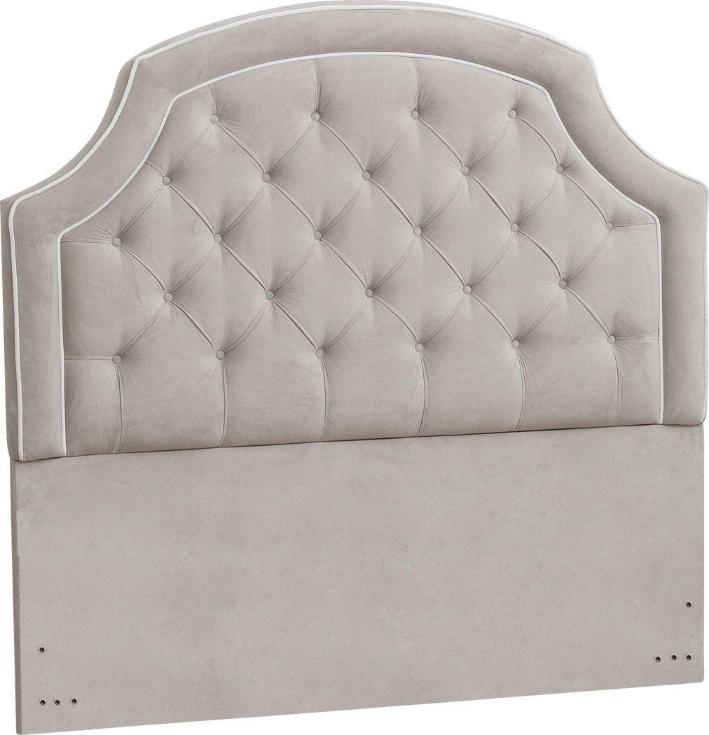 Farhills Gray Queen Upholstered Headboard