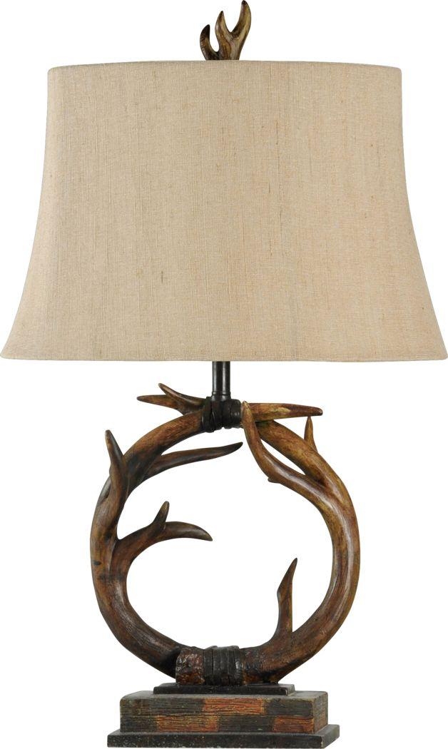 Farmcroft Brown Lamp