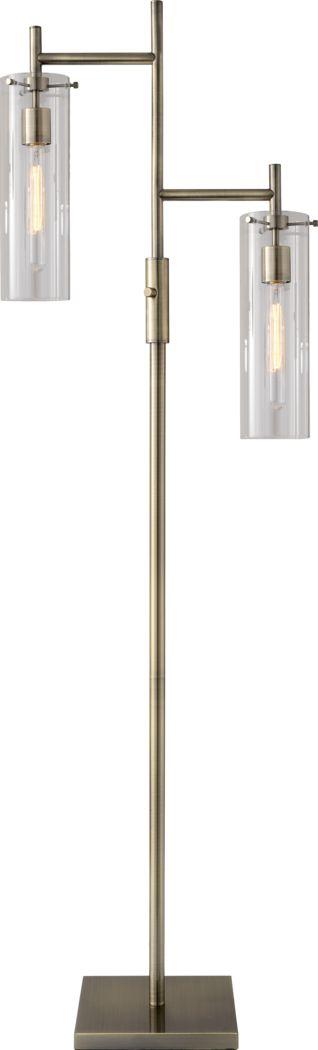 Farnam Brass Floor Lamp