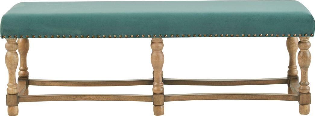Farnsworth Green Accent Bench