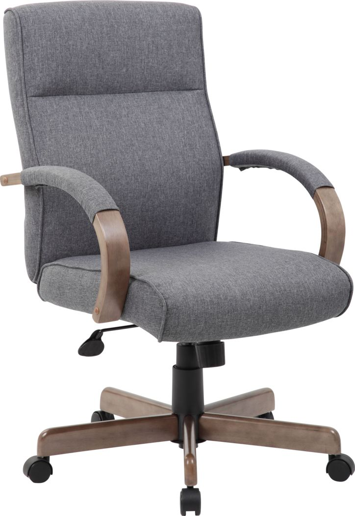 Farson Gray Desk Chair