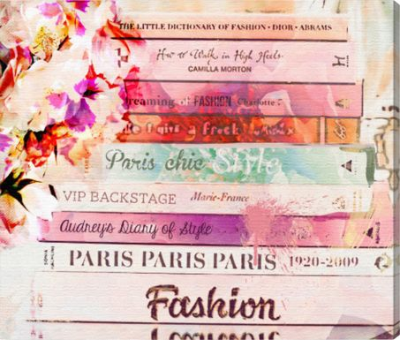 Fashion School Pink Artwork