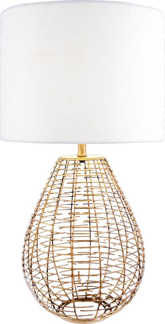 Fayelle Gold Lamp