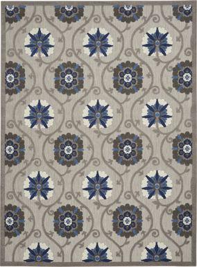 Faylen Gray 8' x 11' Indoor/Outdoor Rug