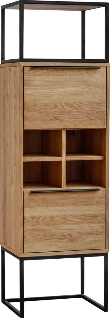 Feiler Brown Bar Cabinet