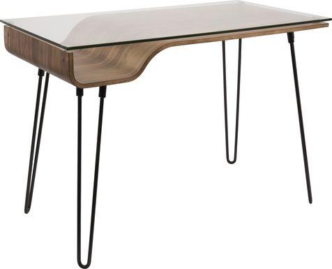 Felton Walnut Desk