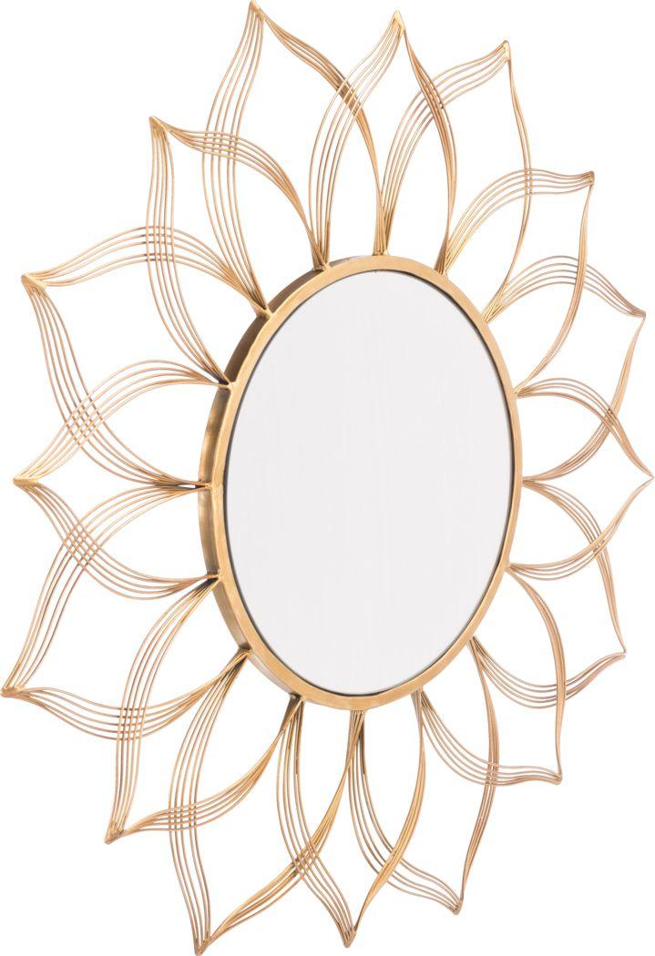 Fendale Gold Mirror