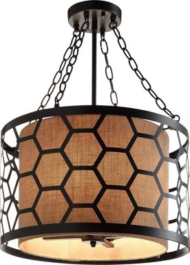 Fentress Bronze Chandelier