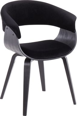 Fenwood Black Accent Chair