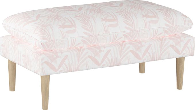 Fern Grove Pink Accent Bench