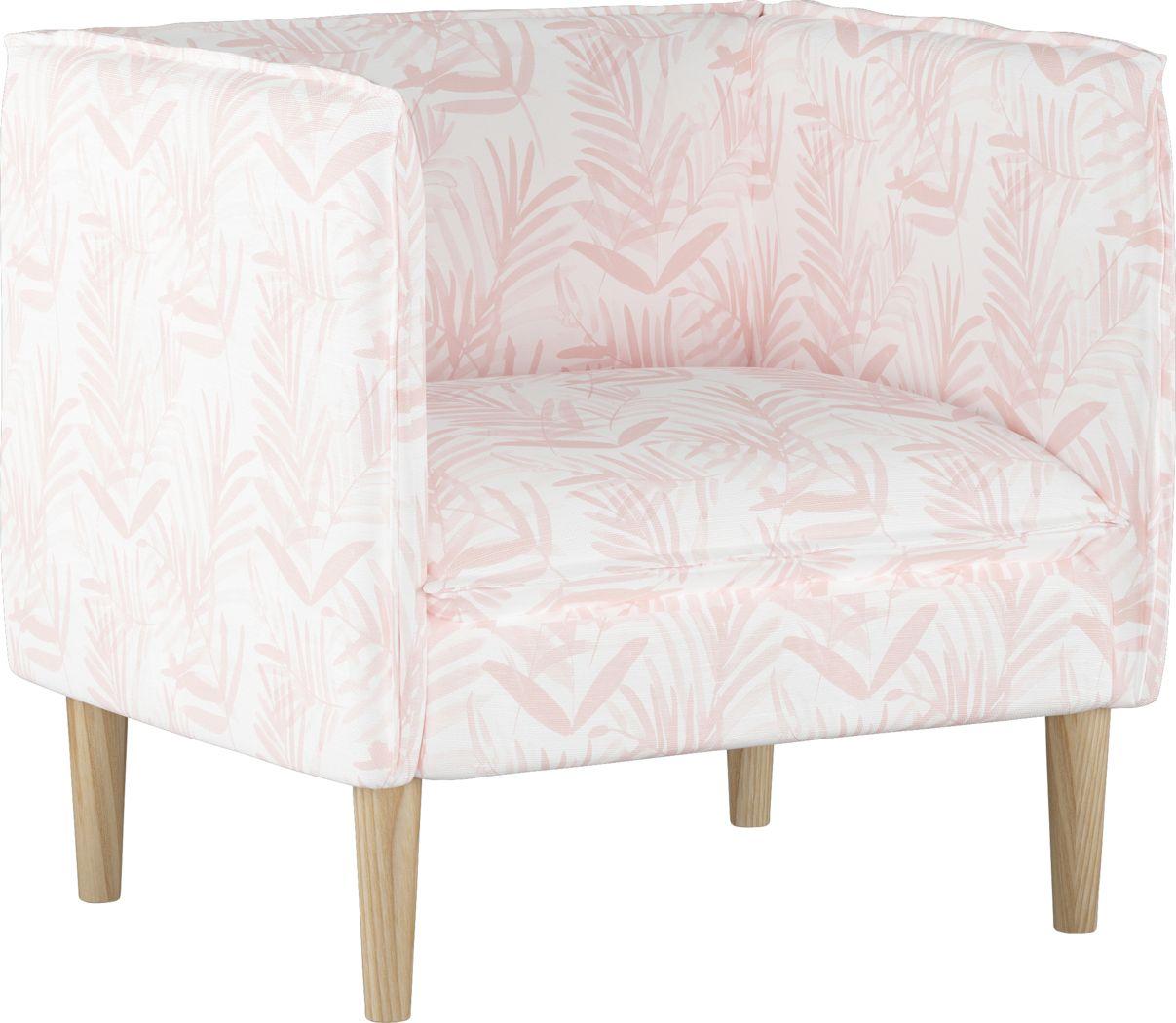Fern Grove Pink Accent Chair