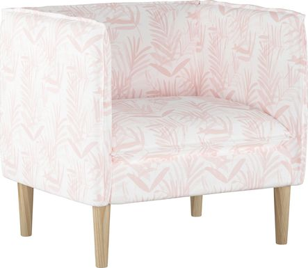 Fern Grove Pink Accent Chair