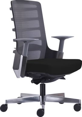 Ferol Gray Office Chair